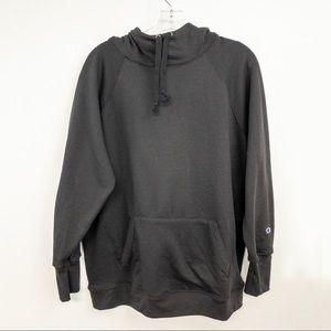 Champion Black Hoodie Sweatshirt Plain NWT 1X